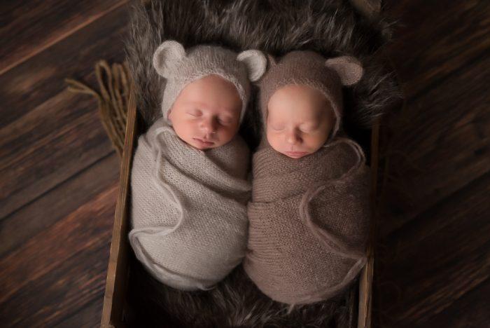 baby fotoshoot tweeling