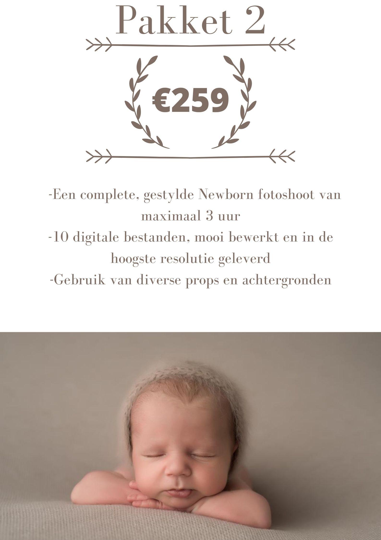 prijslijst newbornshoot wijchen