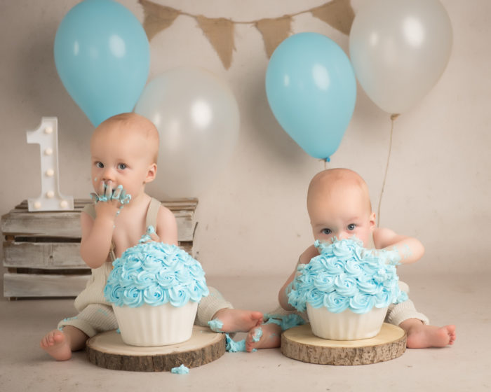 cake smash tweeling lent