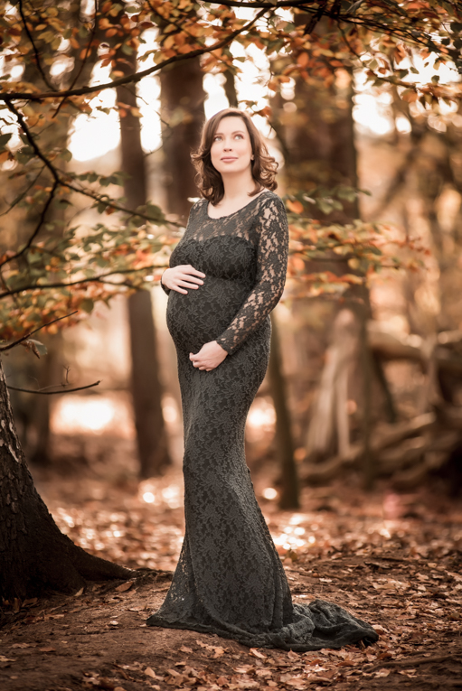 zwangerschaps shoot buiten
