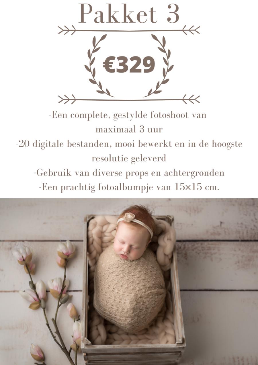prijslijst newborn shoot nijmegen